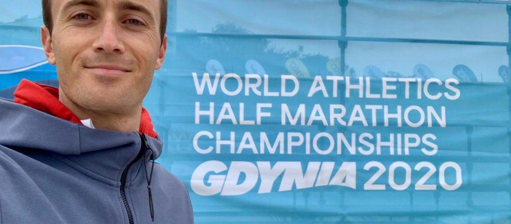 Sonny FOLCHIERI aux Mondiaux de Semi-Marathon